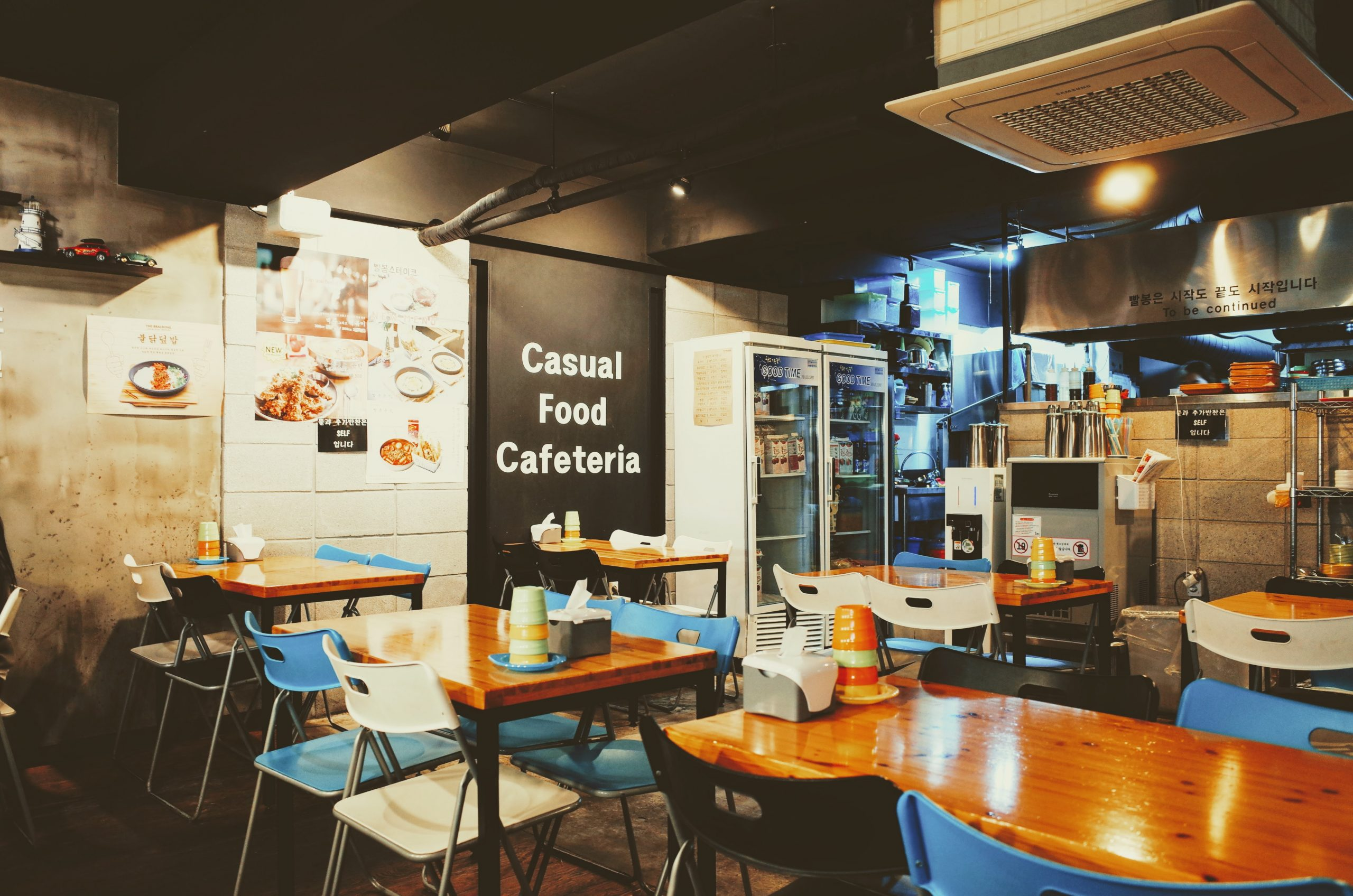 Canva - View of Empty Restaurant